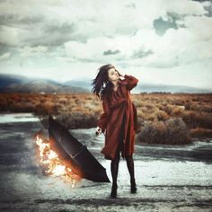 Dissension of pyre - Surreal Photography by Robby Cavanaugh  <3 <3