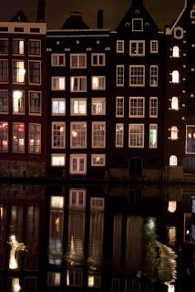 Photography by Stefany Roszczyn: Amsterdam by night