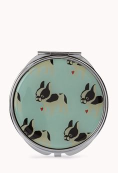 French Bulldog Compact Mirror.