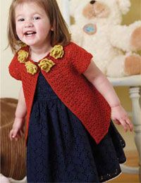 Easy Crochet Baby Sweater Pattern: Anna Cardigan