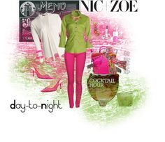 """From Coffee to Cocktails with NIC+ZOE"" by joannepodagrosi on Polyvore"