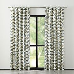 Curtains, Drapes and Window Coverings | Crate and Barrel