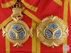 An Ethiopian Order of the Trinity; Grand Cross   eMedals