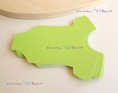 100 Baby Onesie Tags Size 3 In Nontextured or by CurlynChic, $7.35