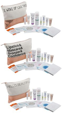 Snag a Chic Beauty Pouch Designed by the Editors at People & Stuffed with $100+ in Samples for Just $35 - http://www.shopgirldaily.com/2014/11/snag-chic-beauty-pouch-designed-editors-people-stuffed-100-samples-just-35/