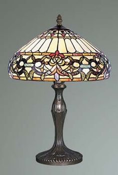 ebc7e26e3 Ivy Tiffany Stained Glass Table Lamp Stained Glass Table Lamps, Tiffany  Stained Glass, Tiffany