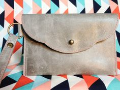 Make this Homemade Holiday Gift: Leather Wristlet HOMEMADE HOLIDAY GIFT IDEA EXCHANGE: PROJECT #13 | Apartment Therapy