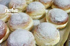 Alman Pastası (Çok Pofuduk) Tarifi No Bake Oreo Cheesecake, Cheesecake Recipes, German Cake, Turkish Recipes, German Recipes, Popular Recipes, Hamburger, Food And Drink, Easy Meals