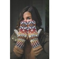 Pendleton-Inspired Mittens Knitting Pattern | InterweaveStore.com