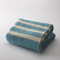 beautiful MacAusland blankets (made on Prince Edward Island) || Camp Blanket