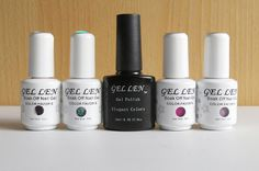 Gadget Girl Reviews: Gellen UV Gel Nail Polishes 4 piece kit & NEW Halo...