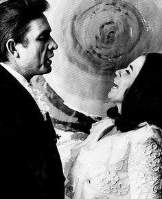 June Carter +Johnny Cash