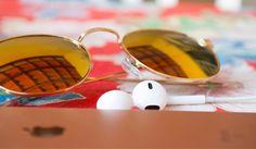 Óculos super lindo, vintage!