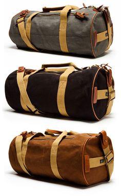 Canvas duffel bag   Raddest Men's Fashion Looks On The Internet: http://www.raddestlooks.org: