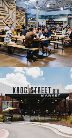 How Atlanta's Krog Street Market Became an Immediate Success – Travel & Restaurants – Food Visit Atlanta, Atlanta Travel, Atlanta Georgia, Atlanta Market, Master Thesis, Inman Park, Atlanta Restaurants, Food Park, Branding