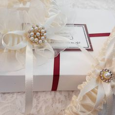 """Ivory Garter Set, Ivory Bridal Garter, Ivory Wedding Garter, Wedding Garter Set, Bridal Garter Set, Garter, For Wedding, Personalized Garter Make your wedding day even more special with this two-piece bridal garter set. Using a tape measure, simply measure around your thigh in the spot where you will be wearing the garter (usually about 4"""" above your knee). Use that measurement as a guide to select the correct size for your garter. Please measure your thigh carefully to select the correct size Ivory Bridal Garter, Wedding Garter Set, Tape Measure, Thigh, Wedding Day, Gift Wrapping, Make It Yourself, Etsy, Pi Day Wedding"""
