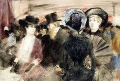 J. L. Forain, la comédie parisienne