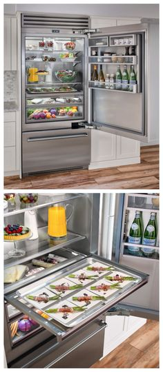"Wow! TELL US what you think of our NEW 36"" Built-in Refrigerator that was just named a finalist for a Best of Year Award by Interior Design Magazine."