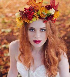 Ősz menyasszonyi fejdíszek #ősz #menyasszony #fejdísz #hajdísz #orange #autumn #fall #bridal #haircrown #decoration