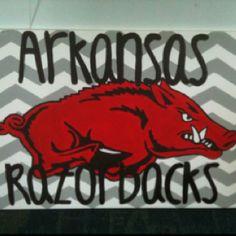 Razorback painting by chris10_77@yahoo.com