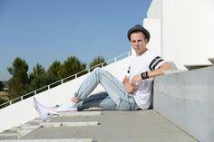 Men's style, white converse, street fashion