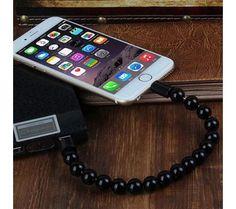 Yeni Trend Bileklik Şarj ve Data Kablosu Apple-Siyah