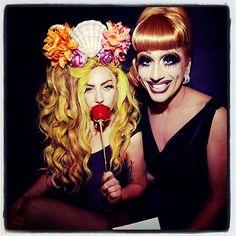 Lada Gaga With RuPaul's Drag Race'sBianca Del Rio<3