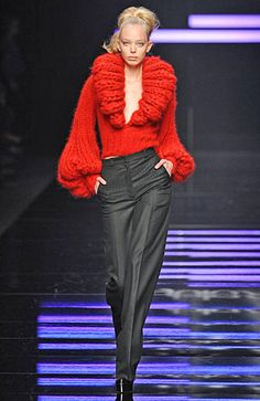 Byblos Fall 2008 RTW...glaaaamooouuurrrrr!! Love red. BAM!