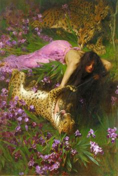 The Enchantress - Arthur Wardle
