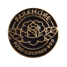 Rose-Colored Boy Enamel Pin