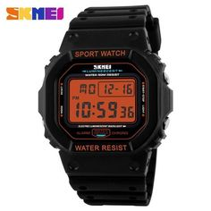 relogio masculino SKMEI multifuctional fashion Sports chronograph Digital LED Watches rubber strap 50m waterproof Wristwatches