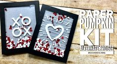 VIDEO: December 2016 Paper Pumpkin Kit, Alternate Projects & Giveaway | Stampin Up Demonstrator - Tami White - Stamp With Tami Crafting and Card-Making Stampin Up blog