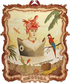 rafael silveira pintura oleo e acrilico ilustração molduras surrealismo dionisio arte (15)