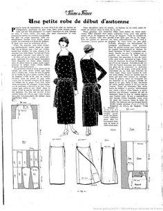 Les Modes de la femme de France | 1923-09-02 | Gallica