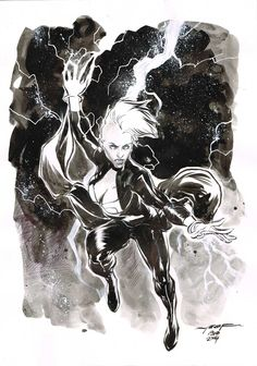 Day 19 - STORM inkwash on A4 canson paper