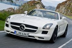Mercedes-Benz SLS AMG Roadster. Yes please