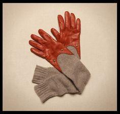 Гибридная перчатка / Перчатки и варежки /