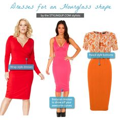 Hourglass style dresses