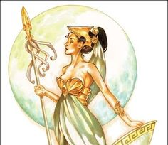 Metis was one of the Titans, a daughter of Oceanus and Tethys; therefore, she was considered an Oceanid. She was the first wife of Zeus, and became the goddess of wisdom, prudence and deep thought....