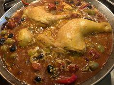 Paella chicken thing!