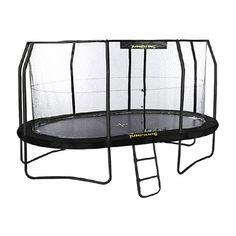Fun Trampoline Games, Jumpking Trampoline, Trampoline Basketball, Trampolines, Basketball Hoop, Ladder, Net, Black, Products