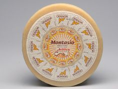 Montasio, a raw cow's milk DOP cheese from Friuli, Italy.