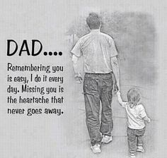 Dad and Papa, my heart still hurts, every single day. I miss you so, and I love you both, will see you again, someday.....