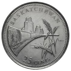 Canadian Coin Collection: Saskatchewan 1992 - Anniversary of Confederation Canadian Things, Rare Coins Worth Money, Foreign Coins, Coin Worth, Canadian History, World Coins, Coin Collecting, Silver Coins, True North