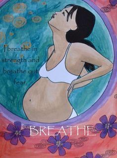 Birth Affirmation Magnets/ Birth art/ doula/ by StudioSpiritYSol Pregnancy Affirmations, Birth Affirmations, Pregnancy Art, Pregnancy Quotes, Birth Art, Water Birth, Midwifery, Doula, Future Baby