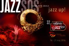 Plakat za Džez fest (foto: Dušan Arsenić)