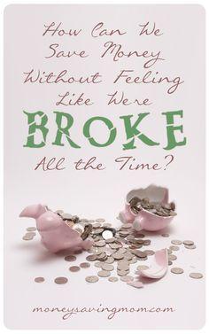 Save Money Without Feeling Broke