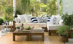 Tok&Stok Garden Crie um cenário aconchegante e ecologicamente correto na varanda da casa.