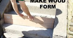 After a long cold winter we had to repair our cement steps. I'm guessing you might have to do this, too. So I decided to share how we fixed our steps in one and…