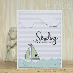 Simon Says Clear Stamps SAIL AWAY sss101525 Splash of Color zoom image
